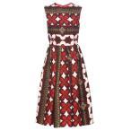 �������ƥ��� ��ǥ����� ���ԡ��� ���ԡ������ɥ쥹 Printed wool and silk dress Multicolored