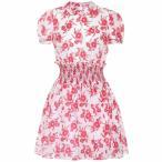 �ߥ奦�ߥ奦 ��ǥ����� ���ԡ��� ���ԡ������ɥ쥹 Floral-printed dress Avorio