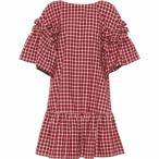 �ե���ǥ� ��ǥ����� ���ԡ��� ���ԡ������ɥ쥹 Checked cotton dress Jelly