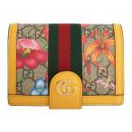 е░е├е┴ Gucci еье╟егб╝е╣ е╤е╣е▌б╝е╚е▒б╝е╣ Multicolor GG Flora Ophidia Passport Holder Multi
