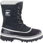 ショッピングスノーシューズ ソレル Sorel レディース スノー シューズ・靴 Caribou Boot Black/Stone