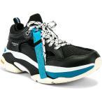 ブランドブラック Brandblack メンズ スニーカー シューズ・靴 Saga Black & Blue