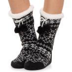コロンビア Columbia Sportswear レディース スリッパ シューズ・靴 Fair Isle Slipper Bootie Socks Black