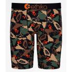 エシカ ETHIKA メンズ ボクサーパンツ インナー・下着 Ethika King Kamo Boxer Briefs Brown