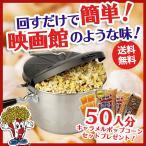 ポップコーンメーカー IH対応 ステンレス製 ポップコーンポッパー Sweet&Easy Silver スターターキット付 家庭用 調理鍋