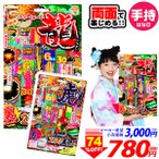 ¥3000(税抜) タイガー&ドラゴン【手持ち 花火 セット】228[17D21]