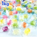 駄菓子 フルーツアソート 1kg(約304個装入   18I27 子供会 景品 お祭り 縁日 お菓子 飴 あめ アメ キャンディ フルーツ 果物 アソート