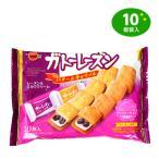 袋入 ブルボン ガトーレーズン バター&キャラメル(各5枚入) 10枚入  駄菓子 18B27