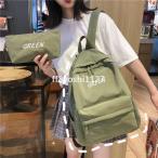 鞄プレゼント韓国風マザーズバッグ女の子キャンバスリュック旅行アウトドアおしゃれ大人リュック大容量リュックサックレディース可愛い通勤通学