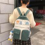 女の子キャンバスリュック旅行アウトドアおしゃれ大人リュック大容量リュックサックレディース可愛い通勤通学鞄プレゼント韓国風マザーズバッグ