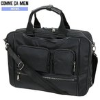 ★SALE59%OFF【COMME CA MEN】コムサメン 2WAY 多機能ビジネスバッグ(ブリーフケース) 黒『18/5/3』160518(送料無料)