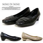 NINE DI NINE 1201 ナインナイン レディース パンプス 牛革製 日本製