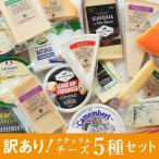 チーズ 詰め合わせ セット 訳あり お得 5種 おつまみチーズセット  ゴルゴンゾーラ ゴーダ ミモレット  カマンベール