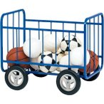 ボール 収納 ボール かご ボール カゴ カゴ キャリー B-2751 ボールカゴ90一体型B2751 特殊送料:ランク(15)(TOL)