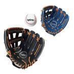 親子グローブセット (KA189418/KW-310)( 野球グローブ 大人用 成人用 子供用 キッズ用 グローブ 軟式 練習用 初めて用 セット ボール付き おもちゃ 玩具 )(QHA1)