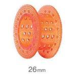 HYP ピンカールロッド 26mm オレンジ 6本入