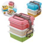 ショッピング重箱 ピクニックケース スモール ピンク ブルー スヌーピー 3段 角型小 運動会 弁当箱 重箱