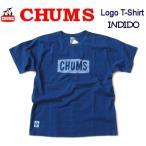 チャムス/CHUMS 【チャムスロゴTシャツインディゴ】 CHUMS Logo T-Shirt Indigo CH01-1197