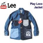 ����ॹ/CHUMS x Lee ����ܥ졼����� �ڥǥ˥५�С�������/�ץ쥤�����㥱�åȡ� Play Loco Lacket��CH04-1131�����쥤����