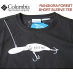 Columbia /コロンビア 【ランギオラフォレストTシャツ】  フィッシングライン・ドライTシャツ PM1388 010/ブラック