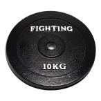 プレート(ラバータイプ)10kg 【単品プレート】 / バーベル、ダンベル兼用_バーゲン特価