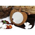Yahoo!fika 雑貨ショップ ヤフー店手鏡、木製の雑貨