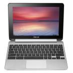 [エイスース] ASUS C100PA-DB02 10.1-inch Touch Chromebook Flip クロームブック シルバー [並行輸入]
