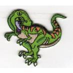 刺繍ワッペン動物(ティラノサウルス)