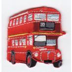 刺繍ワッペン(ロンドンバス)