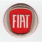 刺繍ワッペン(フィアット/FIAT)
