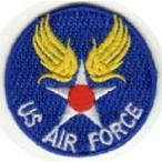 刺繍アイロンワッペン(US AIR FORCE/US エアフォース)