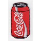 刺繍ワッペン(コカコーラ缶)