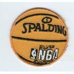 刺繍アイロンワッペン(バスケットボール)