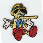 刺繍ワッペン(ピノキオ)