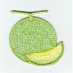 刺繍アイロンワッペン(メロン)
