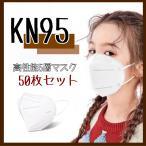「安い立体不織布マスクくちばし型大人用最新5層KN95規格使い捨て50枚セット」の画像