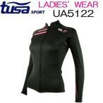 【ポイント10倍】レディース 長袖ジャケット TUSA SPORT ツサスポーツ UA5122 女性 ウエットスーツ生地 ラッシュガード より 保温効果