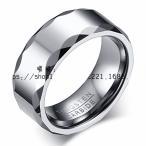 指輪 メンズ シルバー タングステン リング