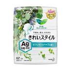 Yahoo!薬のファインズファルマ「花王」 ロリエ きれいスタイル Ag リフレッシュハーブの香り 62個入 「衛生用品」
