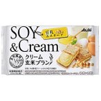 クリーム玄米ブラン 豆乳カスタード 72g 2枚 2袋