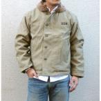 USタイプ 「N-1」 DECK ジャケット JJ105YN カーキ 38( L)サイズ 〔 レプリカ 〕