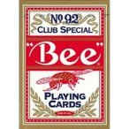Bee ビー (ポーカーサイズ) No.92 Club Special -レッド-