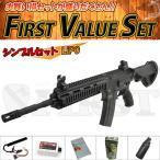 (7点セット品)次世代電動ガン 東京マルイ HK416D シンプルセット(リポ)バイオ LiPo 4952839176196 fvs-b-li フルセット
