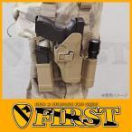 BHI CQCタイプホルスターセット Glock 17/22 マガジン/ライトフォルダー付 CB