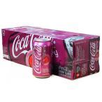 (ケース販売) チェリーコーク コカコーラ 1ケース(12缶) さくらんぼ 355ml アルミ缶 輸入 炭酸飲料 ジュース 箱 プレミアムフライデー