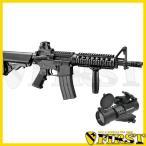 東京マルイ M4 CQBR BLOCK1 リアルガスブローバック ドットサイト レンズカバー付モデル 新製品 4952839142771