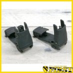 MFTタイプ バックアップ ポリマー フリップアップ サイトセット BK ブラック 黒