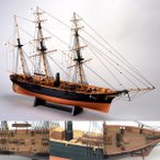 (取寄品)ウッディジョー 木製模型 1/75 咸臨丸(帆無) 精密 上級者向け WoodyJOE かんりんまる 4560134351455