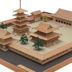 (取寄品)ウッディジョー 木製模型 1/150 法隆寺 全景 精密 WoodyJOE 4560134352452