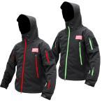 (11月発売予定) DRESS タクティカルジャケット 2021 ブラック×グリーン ブラック×レッド 防風 保温 透湿性 軽量 通気性 起毛